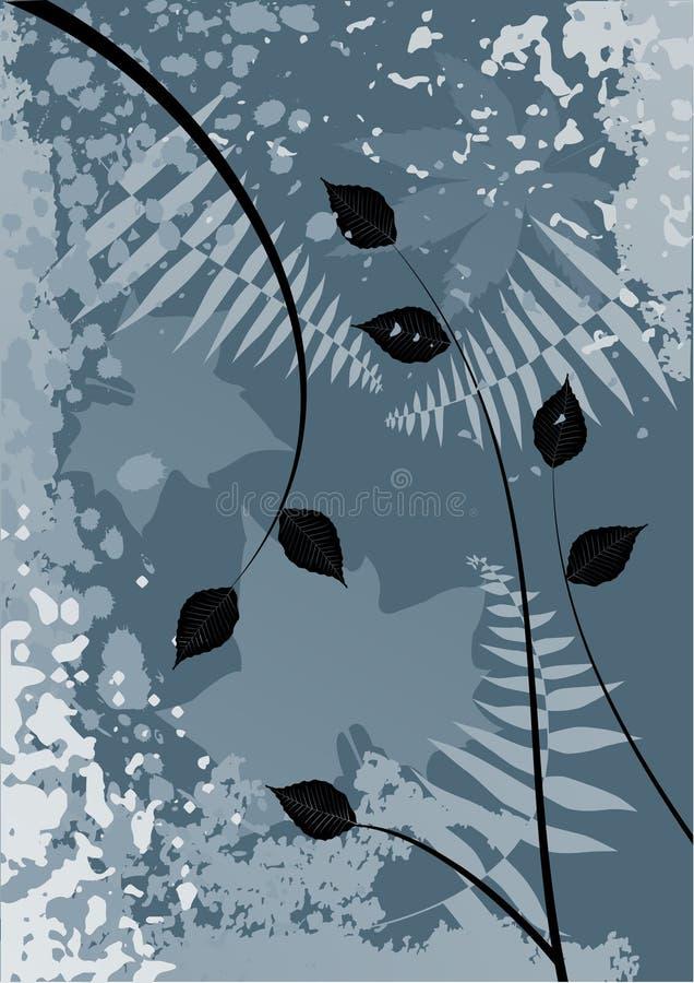 jesienią tło ilustracja wektor
