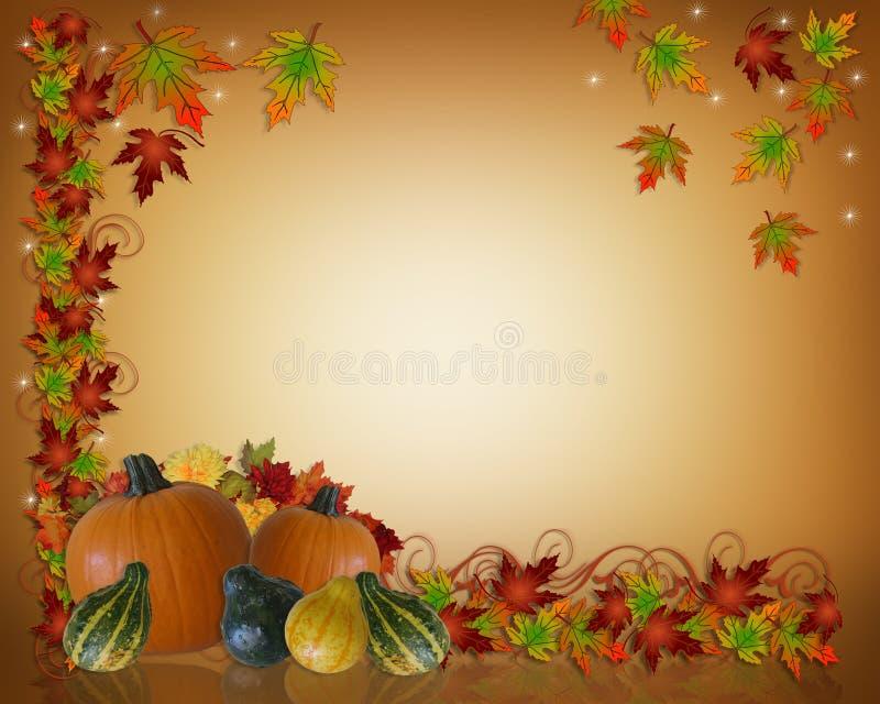jesienią upadku tła Święto dziękczynienia royalty ilustracja
