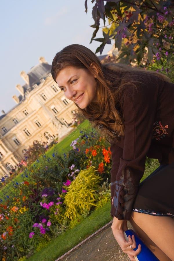 jesienią zrelaksować ogrodu zdjęcia stock