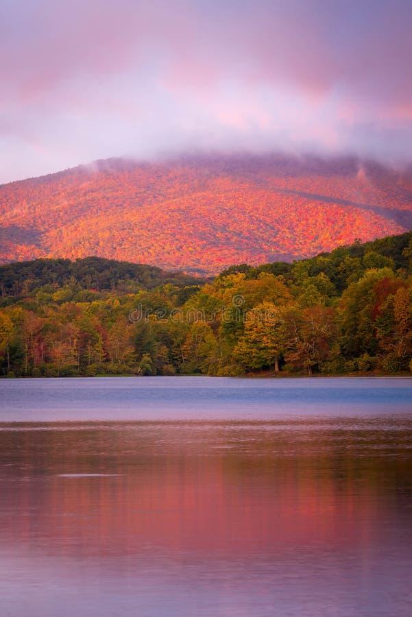 Jesieni łuna zdjęcia stock