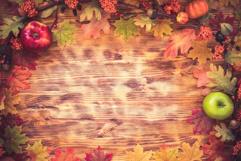 Jesieni święto dziękczynienia zdjęcia stock