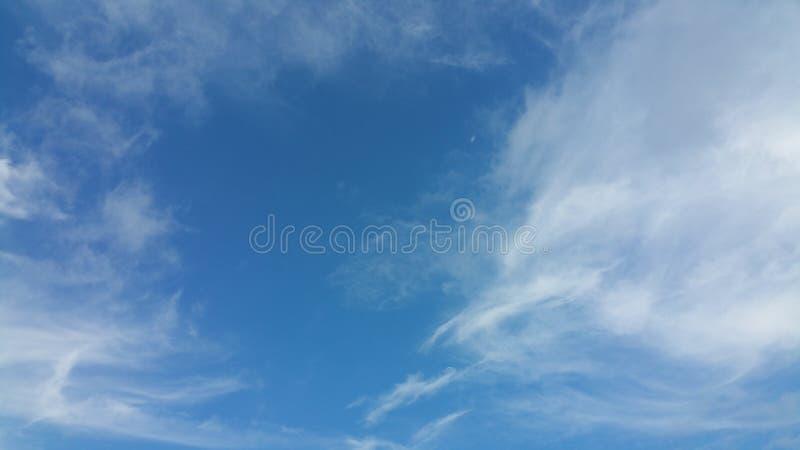 Jesieni chmury zdjęcia stock