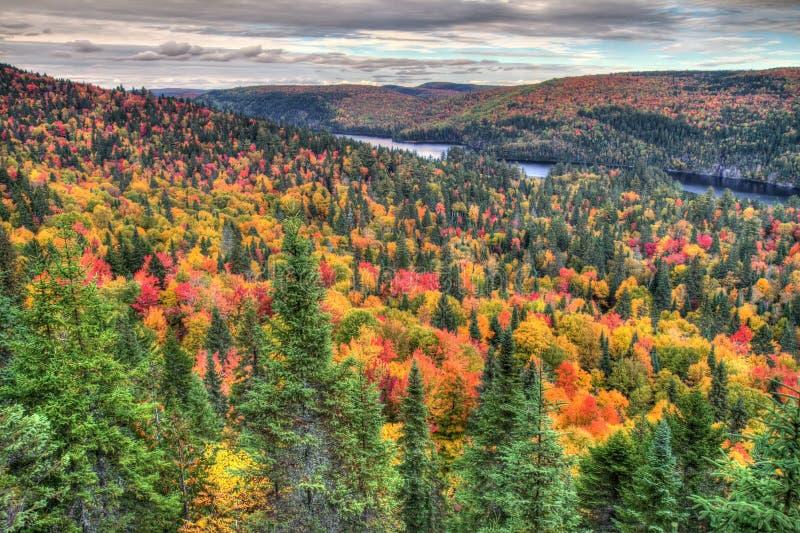 Jesieni góry obraz stock