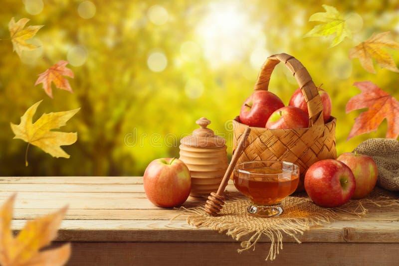 Jesieni i spadku żniwa tło zdjęcia stock