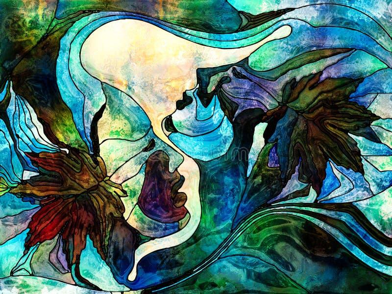 Jesieni miłość royalty ilustracja