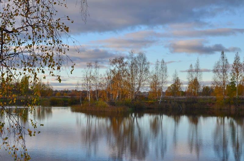 Jesieni opowieść zdjęcie stock