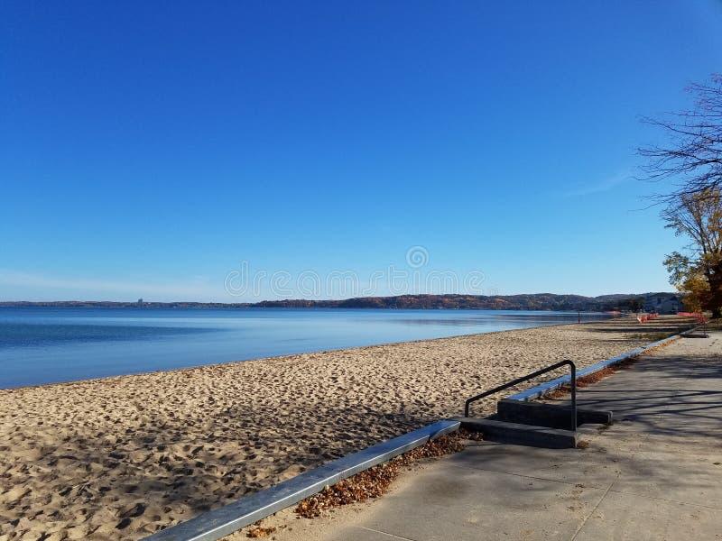 jesieni plaża obrazy royalty free