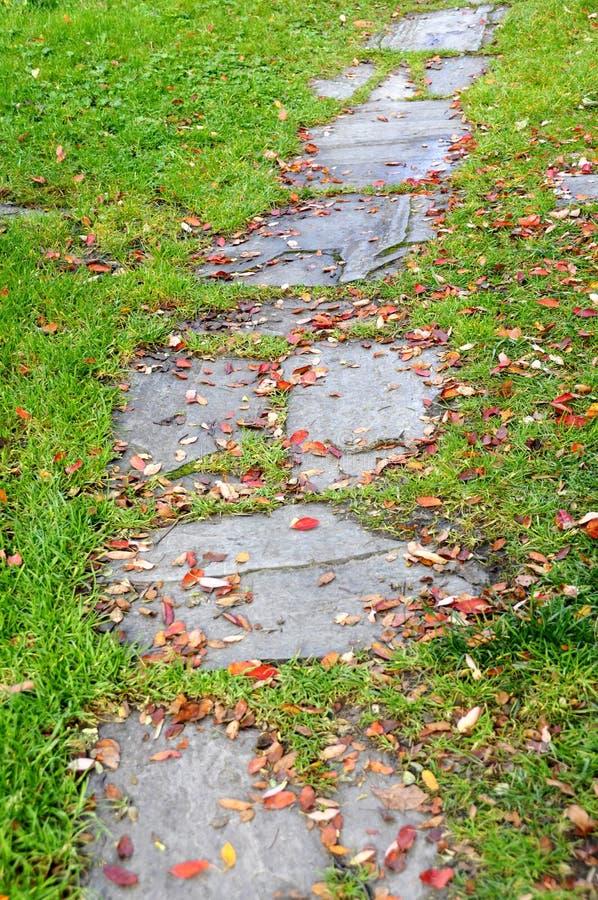 Jesieni przejście fotografia stock