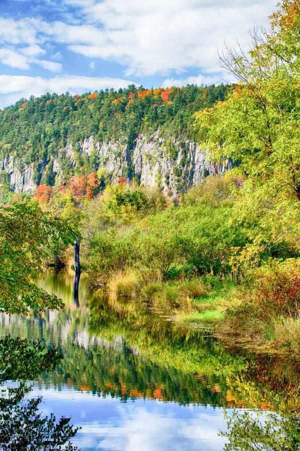 Jesieni skała fotografia royalty free