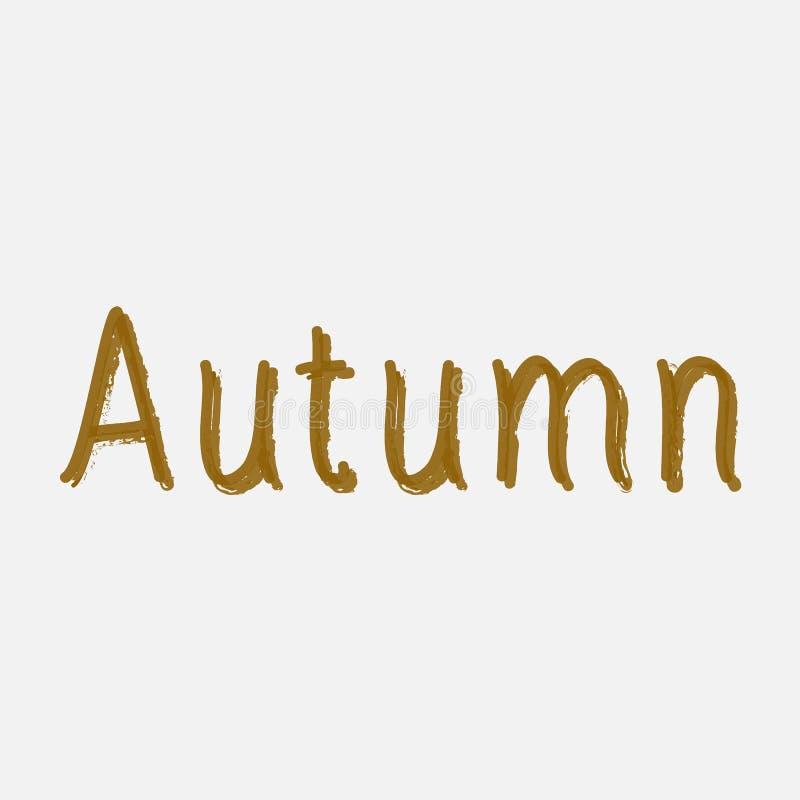 Jesieni sprzedaży tła układ dekoruje z liśćmi dla robić zakupy plakat, ramy sieć i ulotkę sprzedaży lub promo lub sztandar Wektor ilustracja wektor