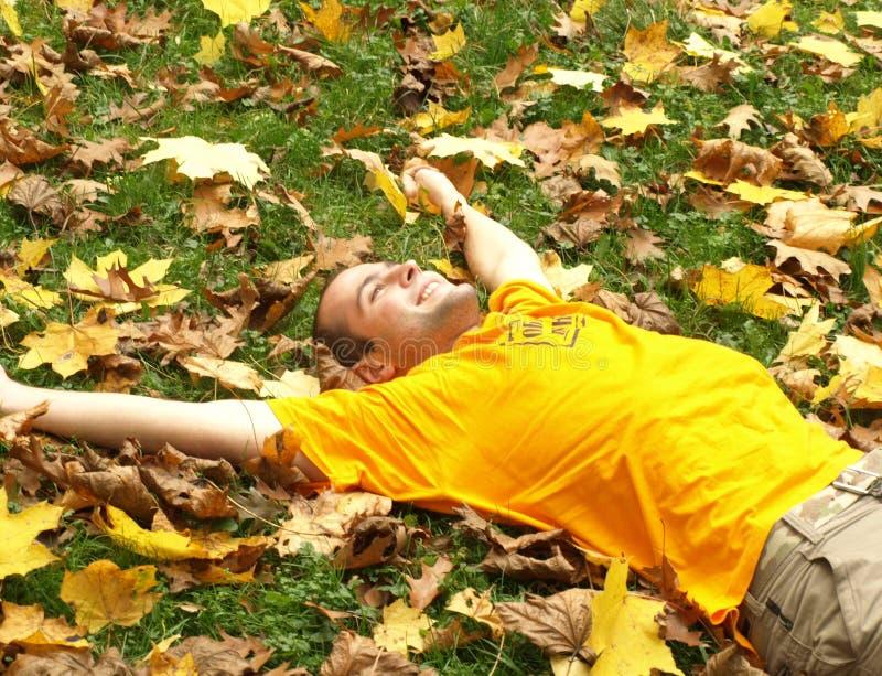 jesieni szczęście obraz royalty free