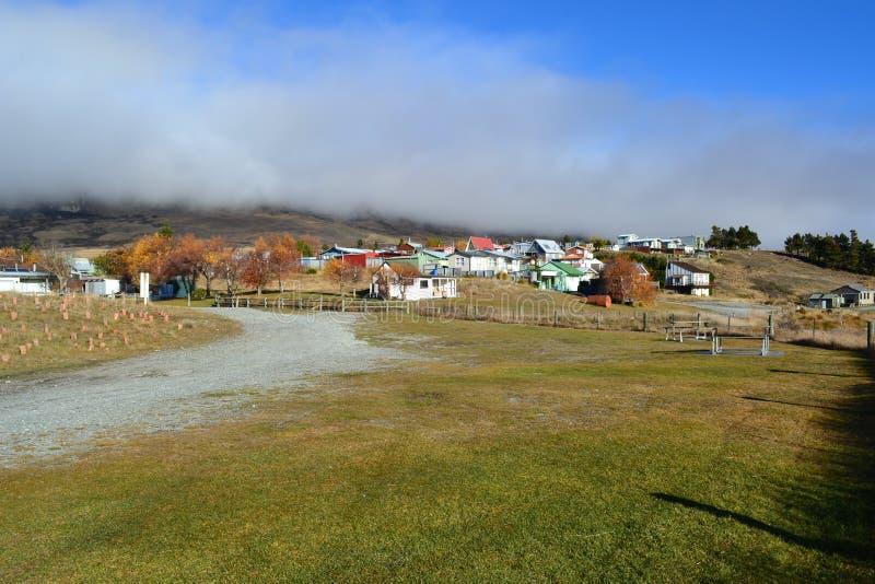 Jesieni wioska fotografia royalty free