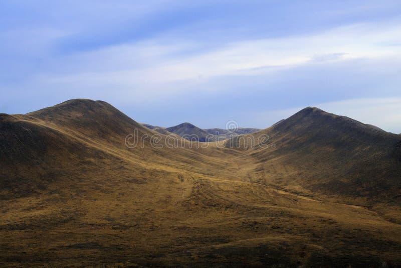 Jesieni wzgórza zdjęcia royalty free