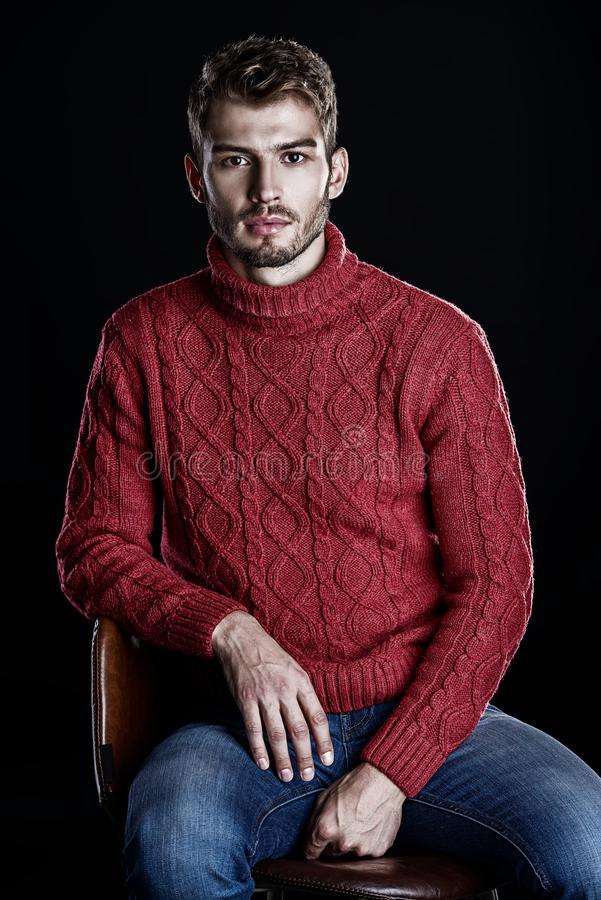 Jesieni zima odziewa fotografia royalty free