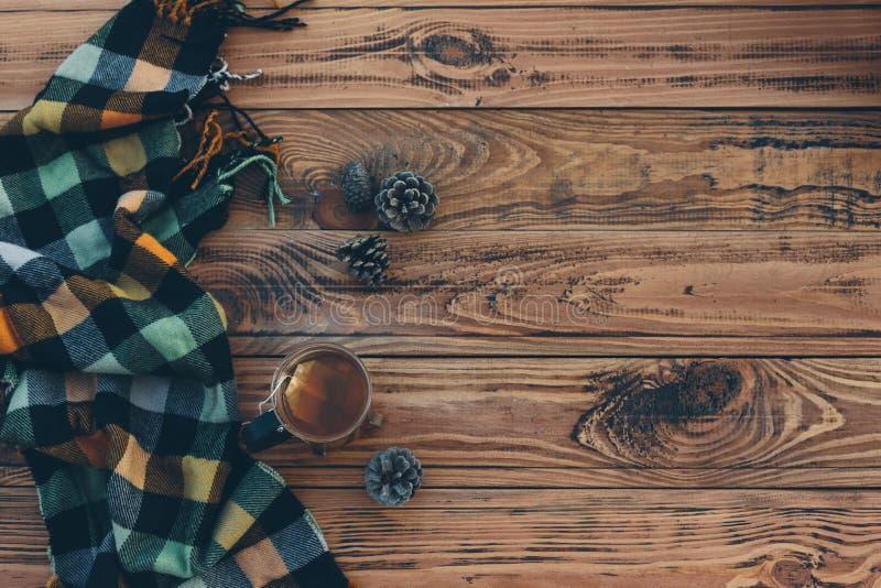 Jesienna herbata obraz stock
