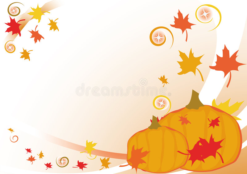 jesienni liście tło ilustracji