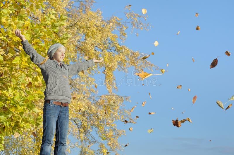 jesienny obraz royalty free