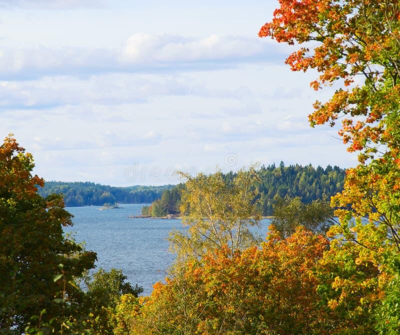 jesienny krajobraz zdjęcia royalty free