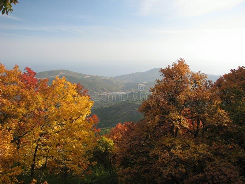 jesienny Krym chigenitra Ukraine zdjęcie royalty free