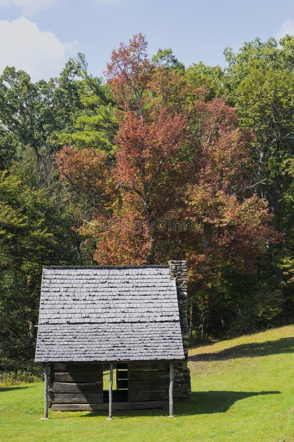 Jesse Brown Cabin en Carolina del Norte fotos de archivo