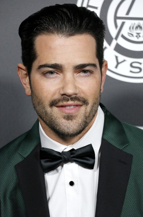 Jesse Metcalfe. At the Art Of Elysium`s 11th Annual Heaven Celebration held at the Barker Hangar in Santa Monica, USA on January 6, 2018 royalty free stock images