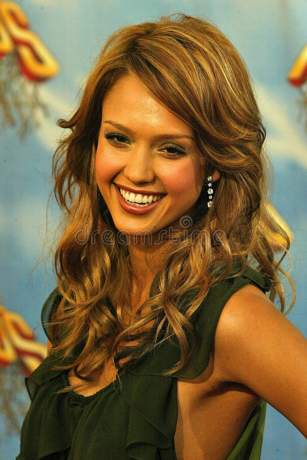Jessica Alba royaltyfria bilder
