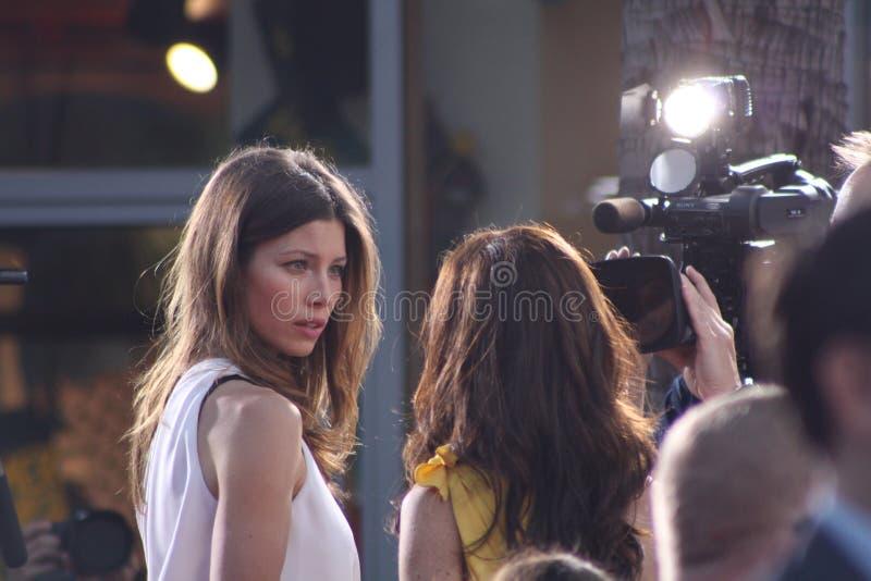 Jessica Biel photo stock