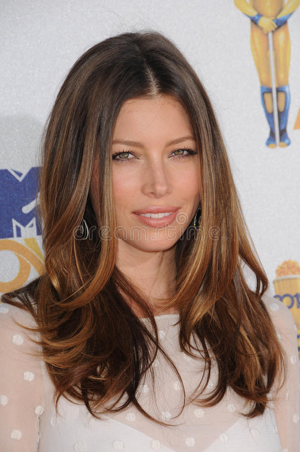 Download Jessica Biel editorial stock image. Image of awards, gibson - 24617999