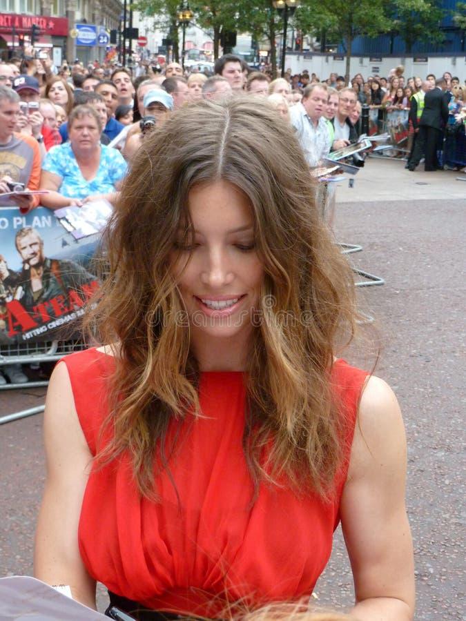 Download Jessica Biel At A Team Premiere Editorial Stock Photo - Image: 15393718