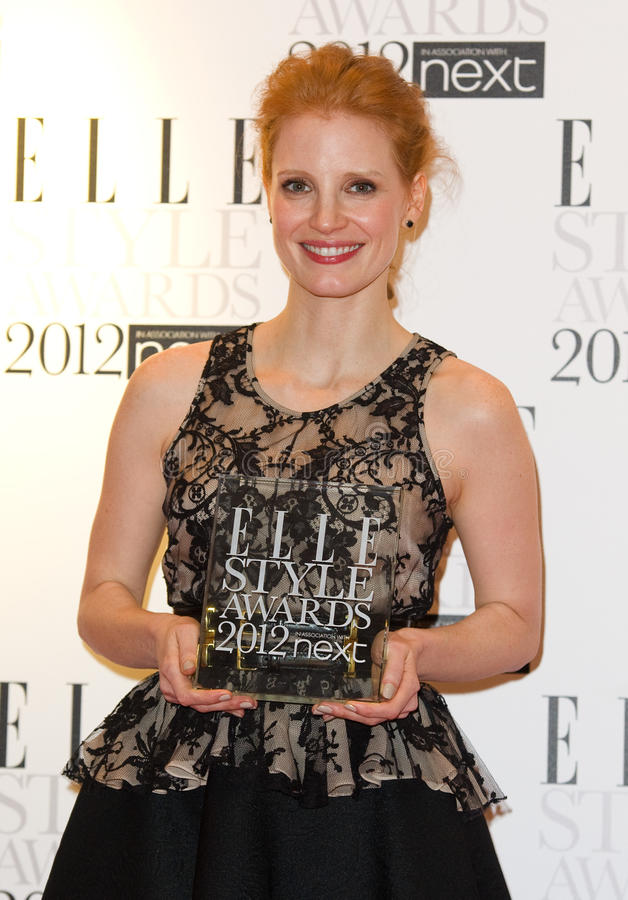 Jessica Chastain Editorial Stock Photo