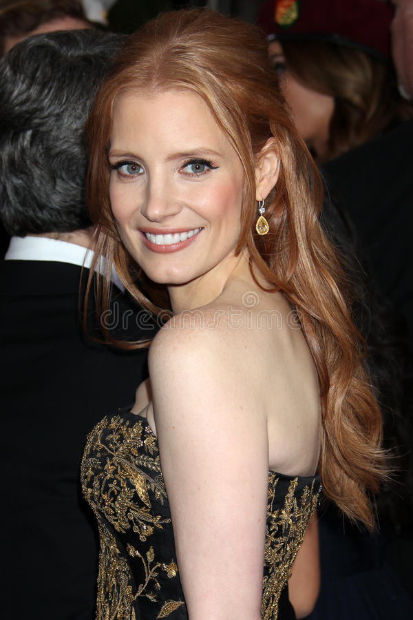 Jessica Chastain foto de stock royalty free