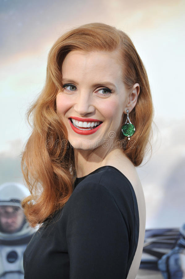 Jessica Chastain images stock