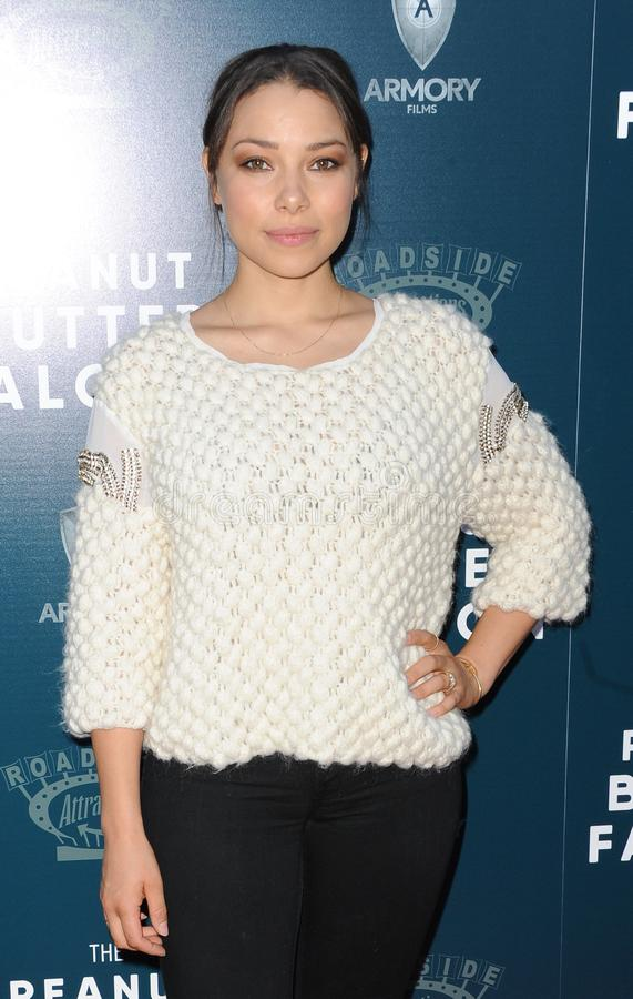 Jessica Parker Kennedy stock afbeelding