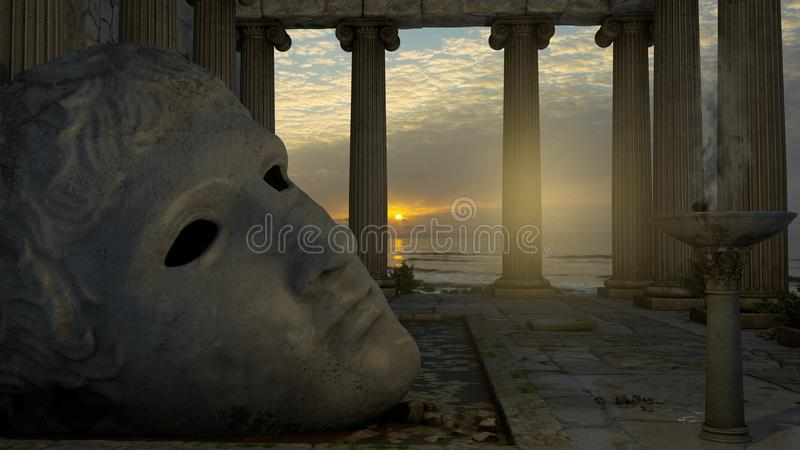 2 jest świątynia Apollo obraz stock