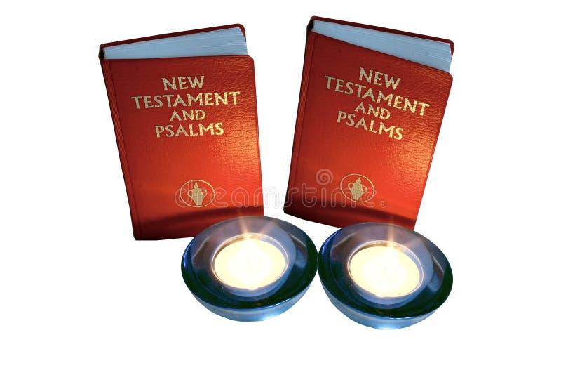jest świeca psalm zdjęcie royalty free