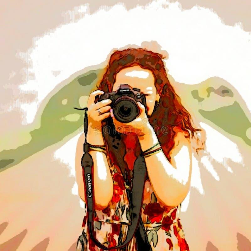 Jest fotografem zdjęcie royalty free