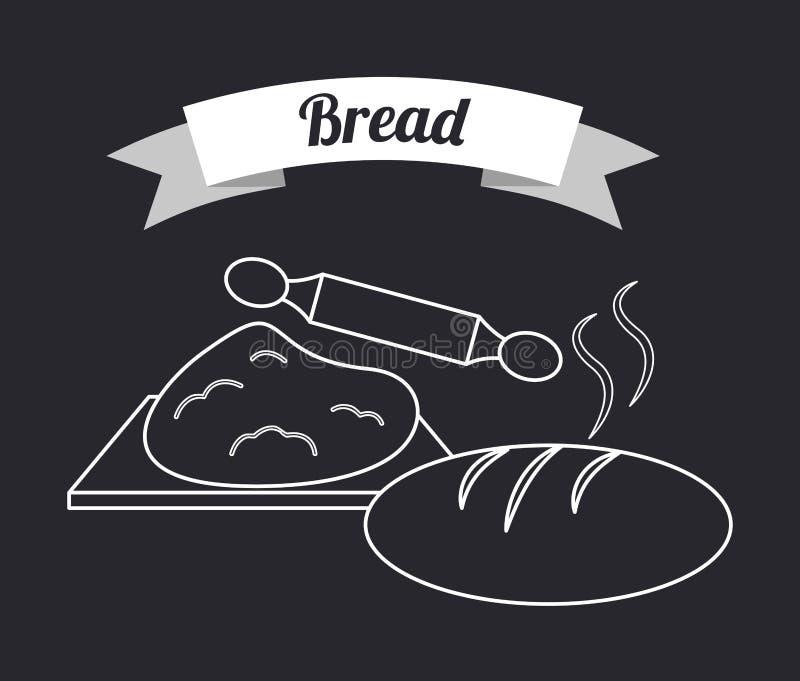 jest mógł karmowy domowej roboty kulebiak royalty ilustracja