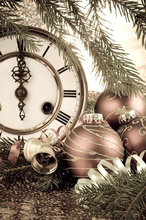 jest nowy rok, ozdoby zdjęcia royalty free