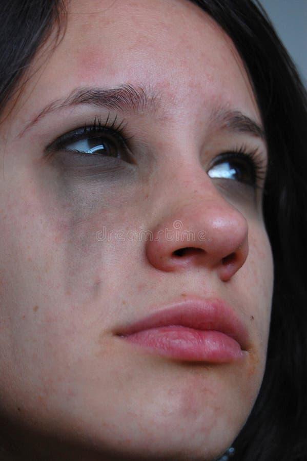 jest płaczący fotografia royalty free
