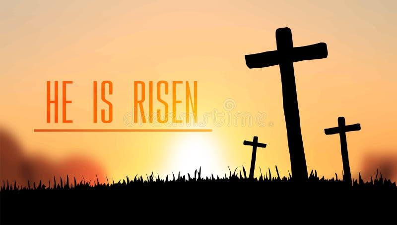 Jest wzrastającym Easter wektorem ilustracji