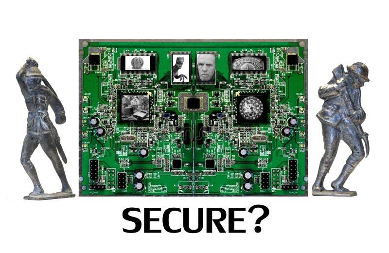 Jesteś Bezpiecznie Online TY? zdjęcia royalty free