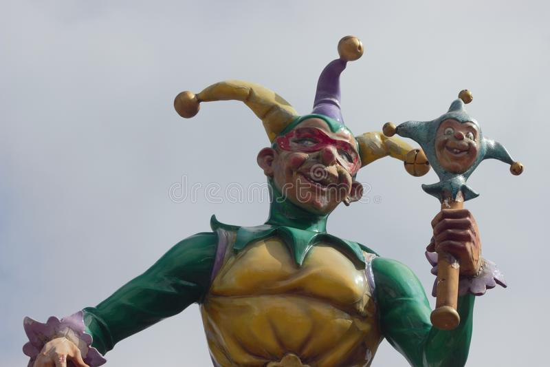 Jester άγαλμα στοκ φωτογραφίες
