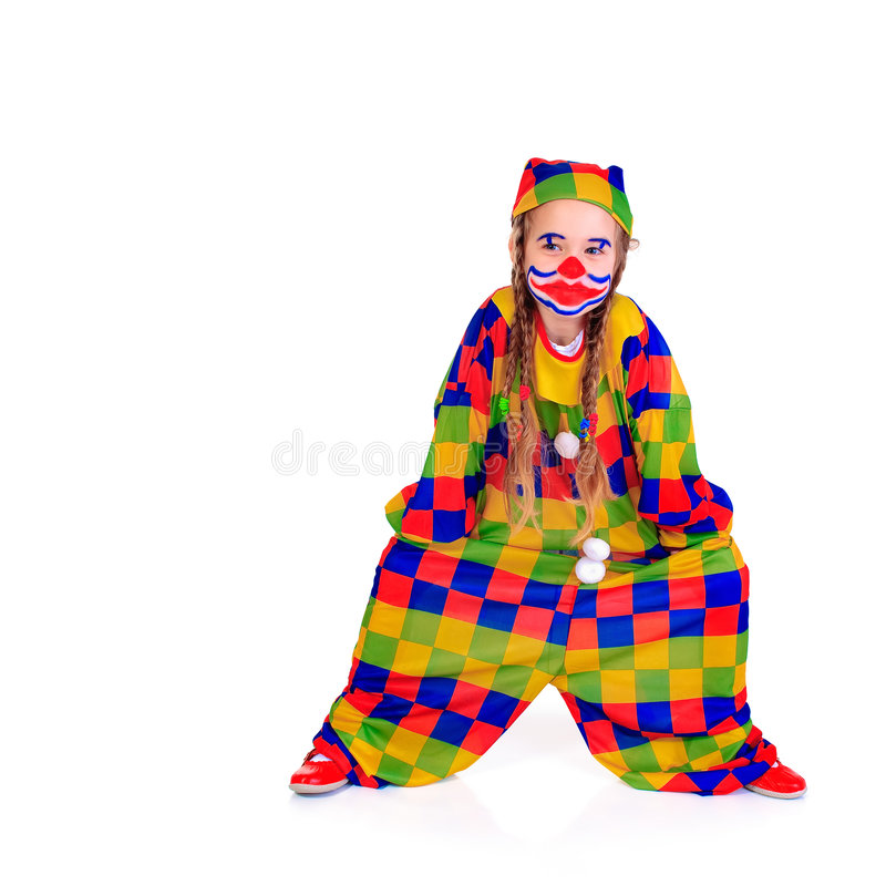 Download Jester stock photo. Image of babe, clown, frolic, childhood - 7944978