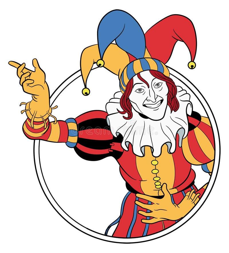 Jester vector illustration
