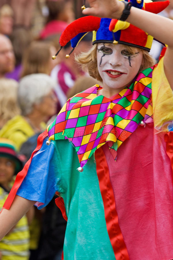 Download Jester on Parade editorial image. Image of female, festival - 20150265