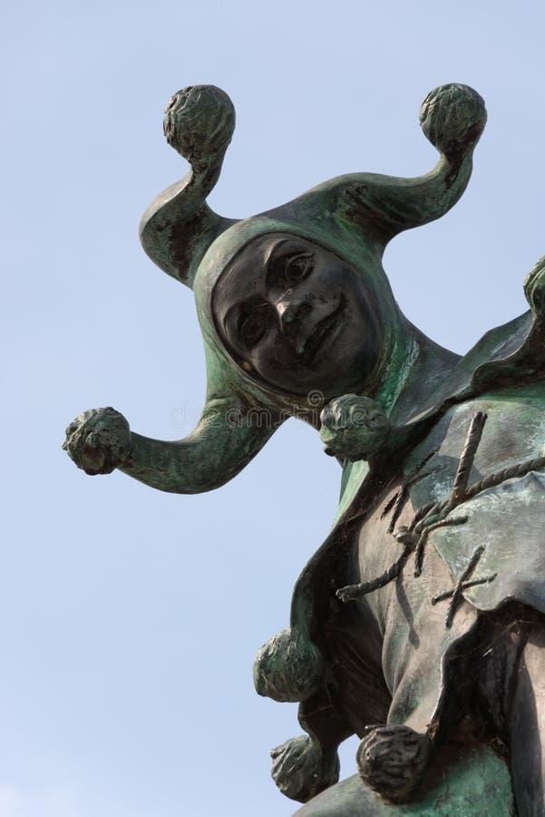 Jester Statue imagens de stock