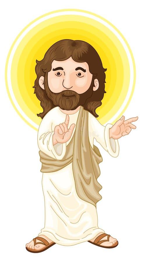 Jesucristo stock de ilustración