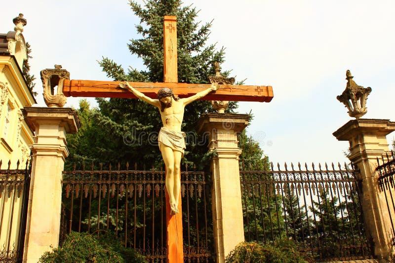 Jesucristo crucificado imágenes de archivo libres de regalías