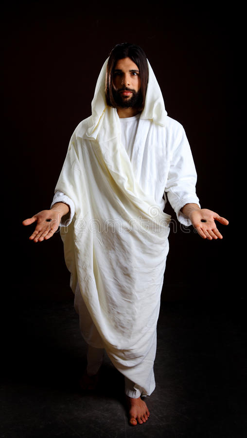 Jesucristo de Nazaret imagen de archivo