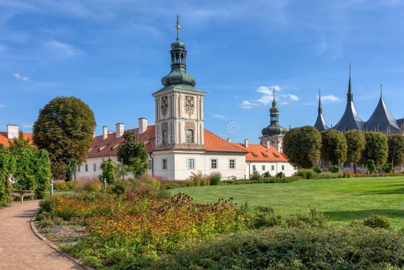 Jesuit College, Kutna Hora, Tsjechië royalty-vrije stock afbeeldingen